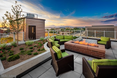 The Lux - Rooftop Terrace with Gas Firepit