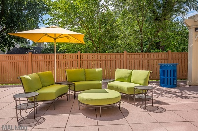 Wingra Point Residences - Outdoor Patio Seating