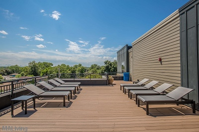 Wingra Point Residences - Sun Deck