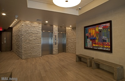 700 UBD Apartment Homes - Lobby Entrance