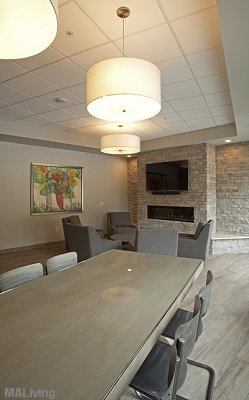 700 UBD Apartment Homes - Community Clubhouse Room