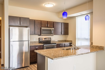 Veritas Village - Deluxe Stainless Steel Appliance Package & Granite Countertops