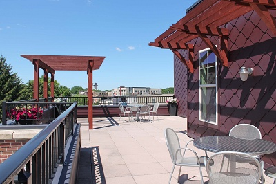 Kennedy Place - Roof-Top Terrace with Grill