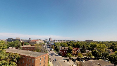 1722 Monroe - Rooftop Deck View