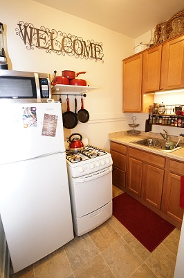 349-351 W. Doty Street - Apartment #2. Kitchen